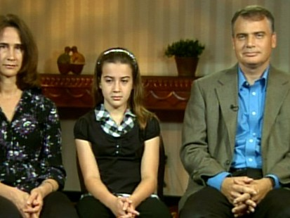 VIDEO: Nadia Bloom, 11, and her parents talk about the harrowing ordeal.