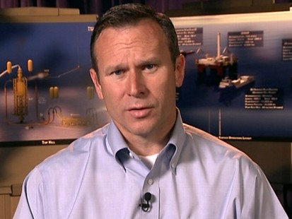 VIDEO: Doug Suttles discusses oil spill