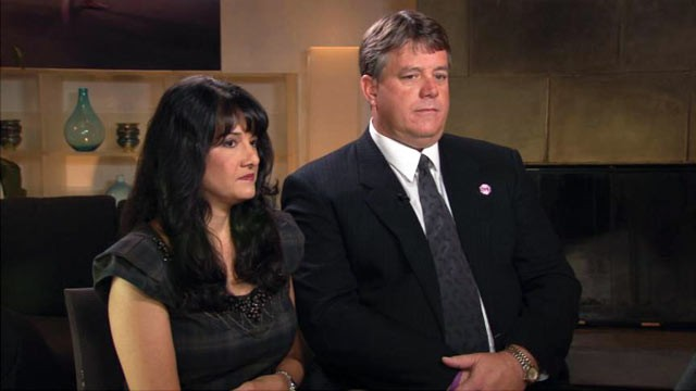 PHOTO: Roxanna and John Green spoke about dealing with the death of their daughter, Christina-Taylor Green a year ago. The 9-year-old was killed when gunman Jared Loughner opened fire at Congresswoman Gabby Giffords' event in Tucson, Ariz.