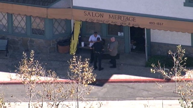 PHOTO: Police in Seal Beach, Calif. report 6 people were killed in a shooting, Oct. 12, 2011.