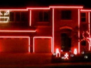Watch: Homeowner Told to End Halloween Light Show
