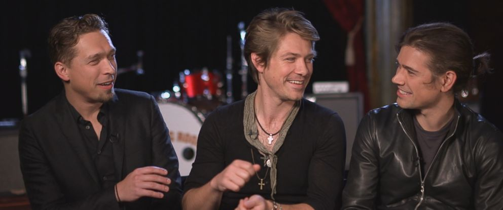 """Isaac, Taylor and Zac Hanson of the band Hanson sat down for an interview with ABC News """"Nightline"""" in 2017."""