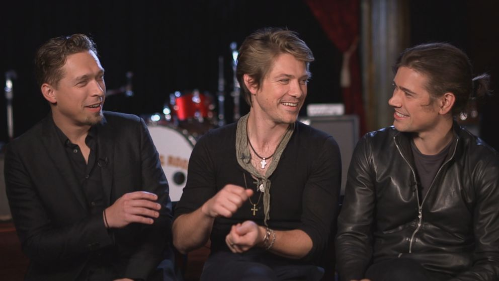 Isaac, Taylor and Zac Hanson of the band Hanson sat down for an interview with ABC News