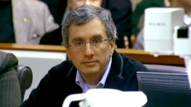 PHOTO: Murder suspect Hemy Neuman, seen in court, said he heard demon voices resembling celebrities, Feb. 21, 2012.