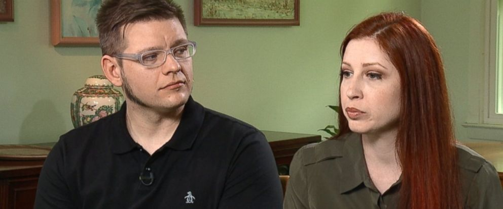 "PHOTO: James Dittrich and Meredith Duffy were victims of a brutal home invasion last year. Their horrific ordeal and injuries were captures by ABCs ""NYMed."""