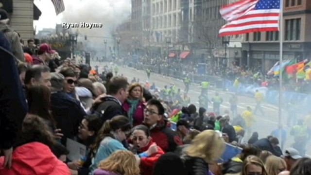 Video: Second Bomb Rattles Marathon Watchers