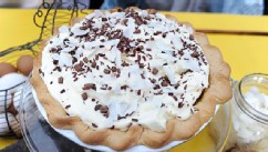 PHOTO: Jalene's &quot;Mary & Ethel&quot; Custard Caramel Pie