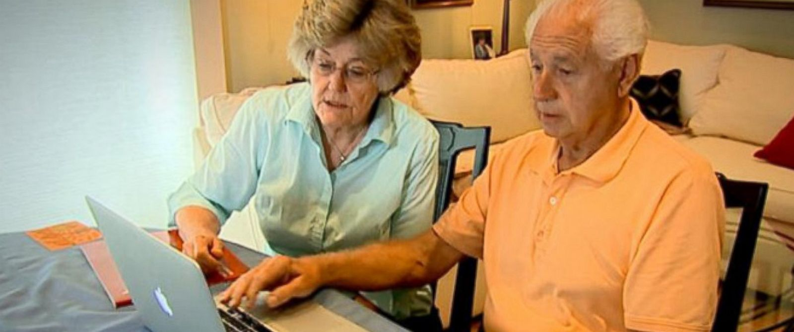 PHOTO: John and Nancy Doner were scammed through a fake rental listing.