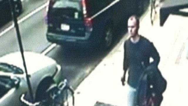 PHOTO: Jason Smith is seen here on surveillance footage; he has confessed to killing Melissa Ketunuti, a pediatrician, in her home in Philadelphia, Penn. on Jan. 21, 2013.