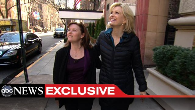 PHOTO: On her first trip to New York City, Jaycee Dugard was awed by the citys skyscrapers.