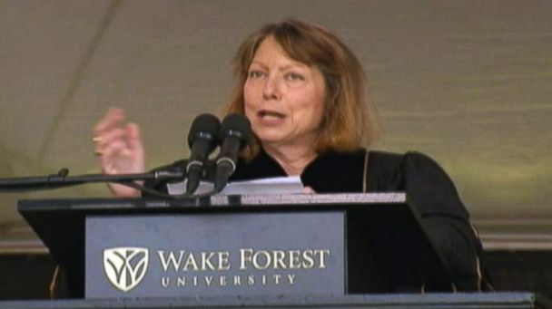 abc jill abramson kb 140519 16x9 608 Ousted Times Editor Tells Grads Shes Just Like Them   Looking for a Job