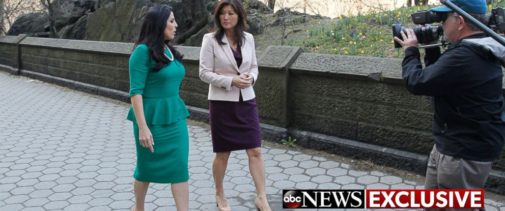 "PHOTO: Jill Kelley, the woman at the center of the scandal that led to the resignation of retired general and CIA Director David Petraeus, speaks with ABC News Juju Chang in an interview to air on ""Good Morning America"" and ""Nightline""."