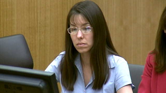 PHOTO: Jodi Arias listens in court during her murder trial on Jan. 8 ...