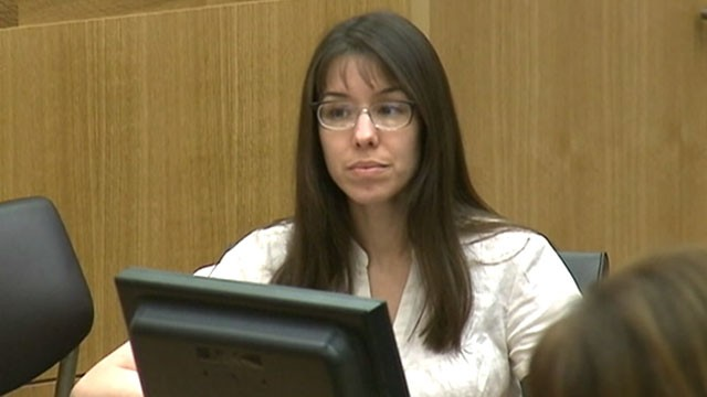 Jodi Arias appears in court for her murder trial at the Maricopa ...