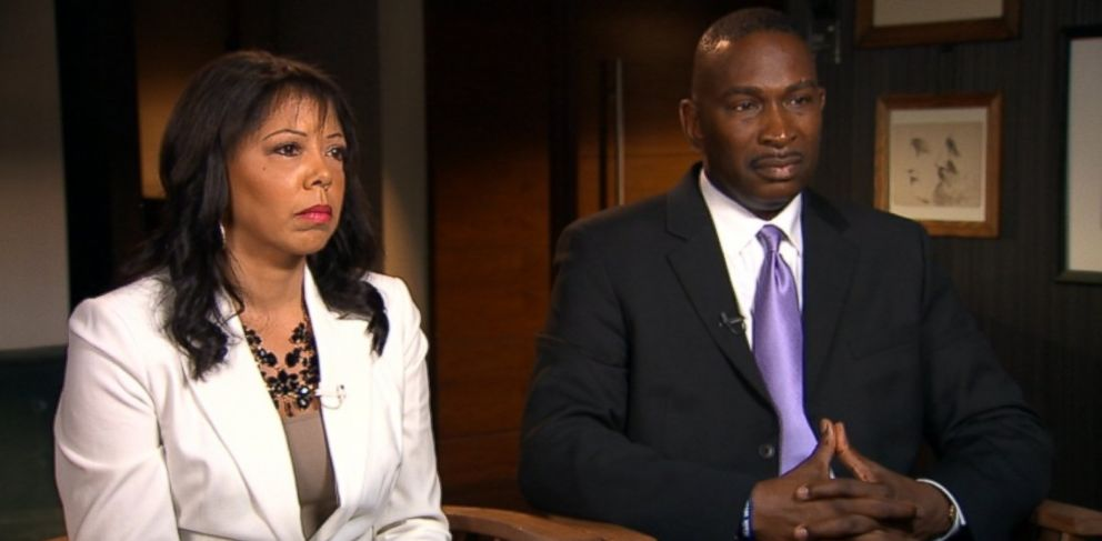 """PHOTO: The parents of Jordan Davis, the Florida teen who was fatally shot by Michael Dunn over loud music, sat down for an interview with """"Nightline"""" Feb. 19, 2014."""