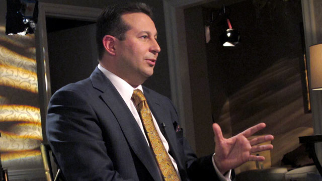PHOTO:Barbara Walters talks with Casey Anthony?s lead lawyer Jose Baez in his first network interview since the jury acquitted his client of murder, manslaughter and child endangerment charges n Orlando, Florida.