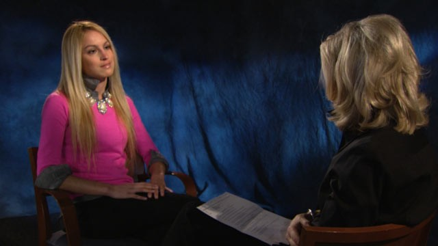 PHOTO: ABC News Diane Sawyer sits down with Sandy Hook Elementary teacher Kaitlin Roig.