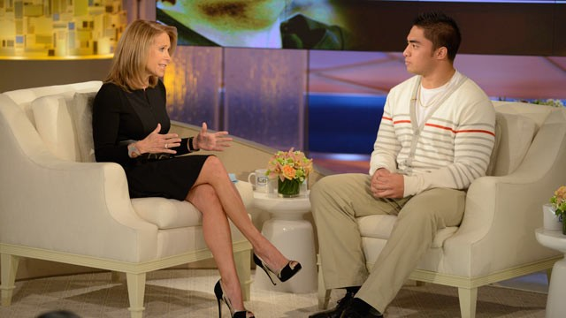 Manti Te'o Tells Katie Couric That Despite Hoax the Emotions Were Real ...
