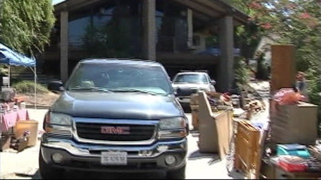 PHOTO:&nbsp;House in Bakersfield, Calif., where human remains were found