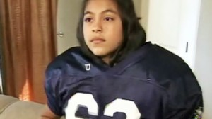 Video: Team refuses to play football team with female member.