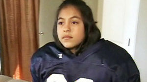 Two Colorado football coaches got into a fist fight over whether Makayla Crespin, the only girl one of the teams, should be permitted to play.