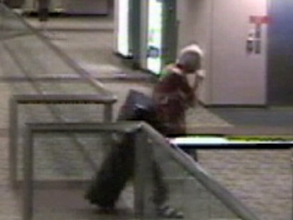 Video: Suspect caught on tape stealing luggage from the Phoenix airport.