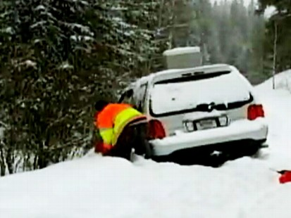 Video: Indiana man found in Colorado snow storm after 4 days.