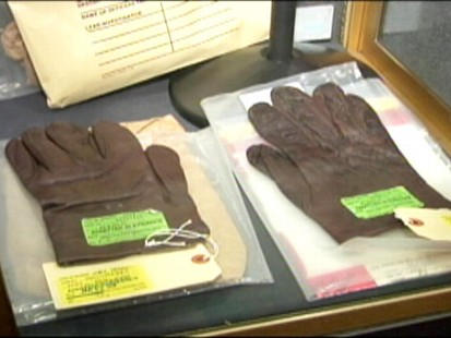 VIDEO: An LAPD exhibition includes evidence from well-known homicide investigations.