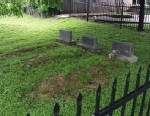 PHOTO: Fake cemetery