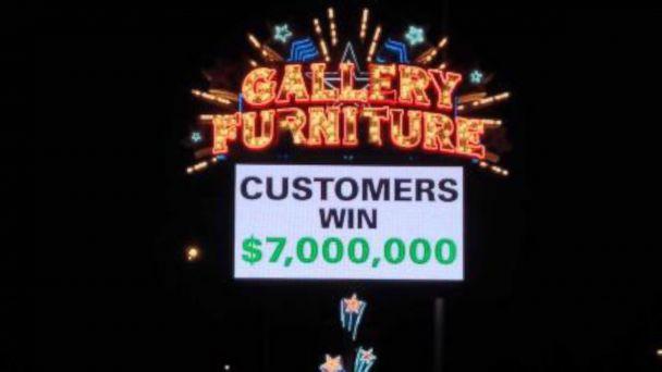 abc ktrk mattress mack kb 140203 16x9 608 Furniture Store Owner Glad to Lose $7 Million Super Bowl Bet