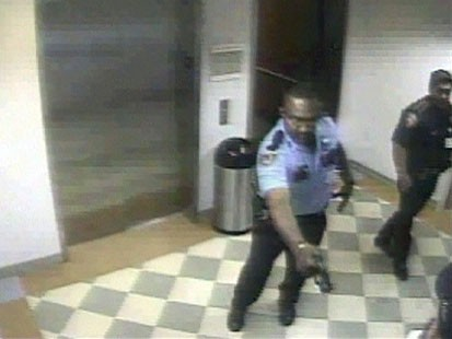 White Father Drops Newborn After Being Tasered By Negro