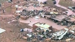 PHOTO: Tornado damage to school
