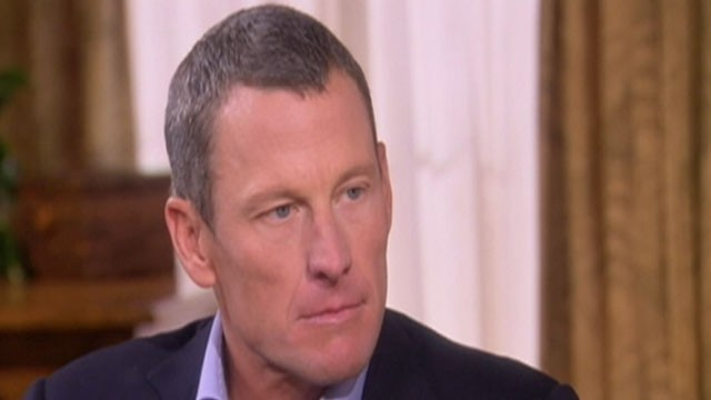 PHOTO: Lance Armstrong, formerly cycling's most decorated champion and, confessed to cheating for at least a decade.