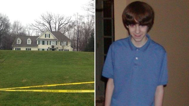 PHOTO: The Newtown, Conn. home where Nancy Lanza and her son Adam lived, left, and Sandy Hook Elementary shooter Adam Lanza is seen in this 2005 photo.