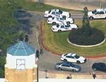 PHOTO: Campus lockdown