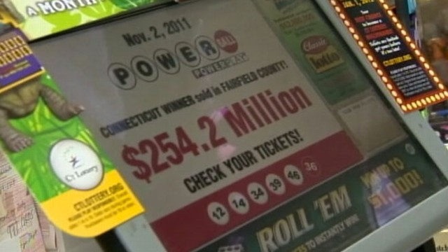VIDEO: Stanford man claims he won the Powerball drawing, but has lost the ticket.