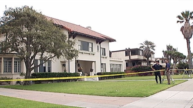 PHOTO: The body of a female guest was found in the backyard of a California home.