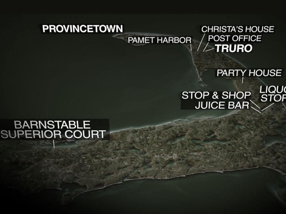 ABC News graphic map of Cape Cod.