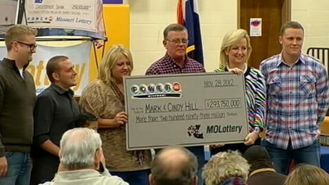 abc mark hill lotto winner wy 121130 wblog Nightline Daily Line, Nov. 30: Dwarf, an Incredible Story