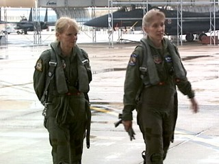 Female Fighter Pilot Breaks Gender Barriers
