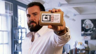 PHOTO: Condition One founder, Matthew Demaio, poses with one of his nutrition bars.