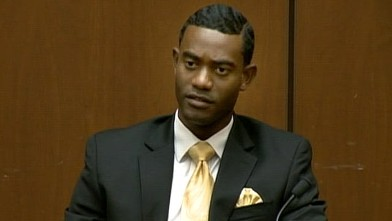 PHOTO:Michael Amir Williams, Michael Jackson's assistant, took the stand at the Conrad Murray trial, Sept. 28, 2011.
