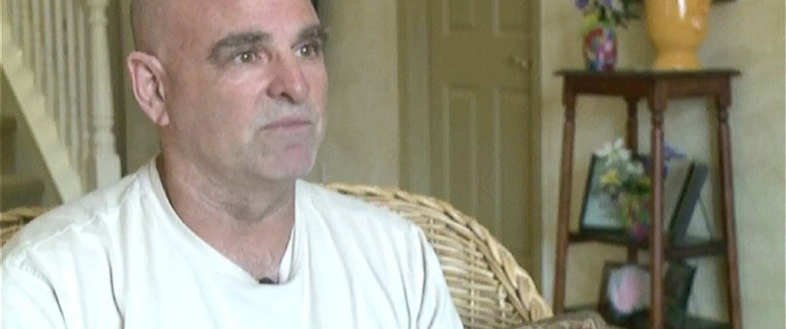 PHOTO: Mike Vilhauer, 58, spent five days lost in the wilderness without food.