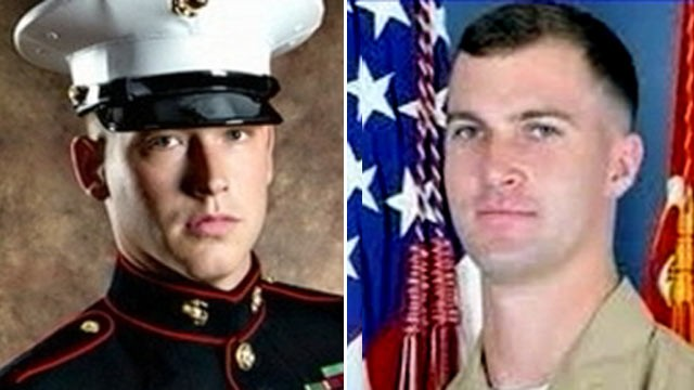 PHOTO: Sgt. Jacob Chadwick, 23, left, received a lifesaving kidney from Lt. Patrick Wayland, 24, right, who died after going into cardiac arrest on Aug. 1, 2011.