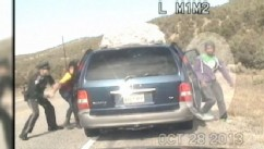 VIDEO: Police Take Aggressive Action When Mother and Her Kids Resist Arrest