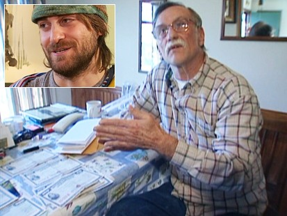 Video: Man finds $200K in his basement.