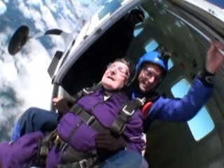 Man, 87, Gets Skydiving Birthday Wish