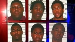 PHOTO At least 18 men and boys have been charged in connection with the gang rape of an 11-year-old girl. The suspects, aged between 14 and 27, are accused of taking part in the rape last Thanksgiving in an abandoned mobile home in Cleveland, Texas.