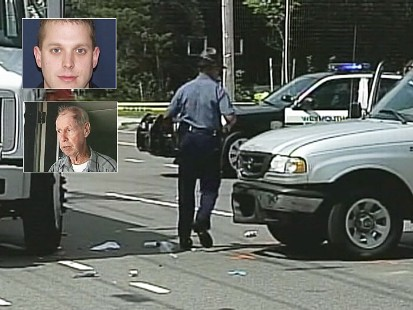 Video: Elderly driver hit and kills police officer.