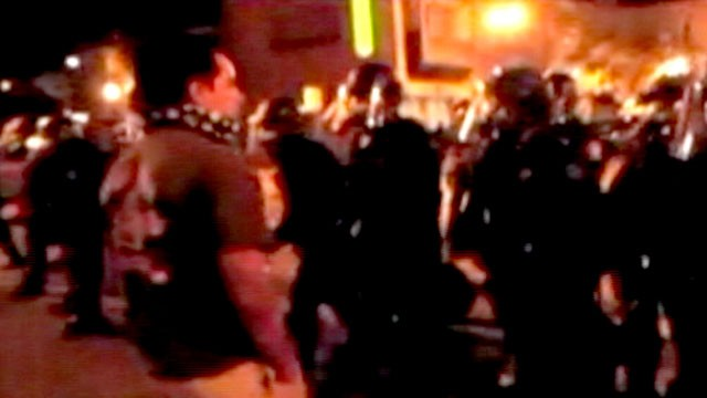 PHOTO: Oakland Cop Beats Protester During Occupy Oakland March